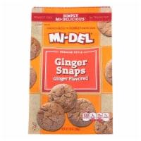 Mi-Del Swedish Style Ginger Snaps Cookies - 10 oz