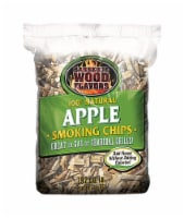 Barbeque Wood Flavors Apple Wood Smoking Chips 192 cu. in. - Case Of: 12; - Case of: 12