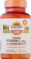 Sundown Naturals Vitamin C 500 mg  Chewable Tablets - 100 ct