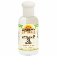 Sundown Naturals Vitamin E Oil 70000 IU Liquid - 2.5 fl oz