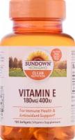 Sundown Naturals Vitamin E 400 IU Softgels - 100 ct