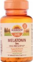 Sundown Naturals Melatonin 5 mg Tablets