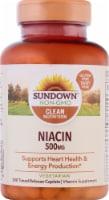 Sundown Naturals Niacin 500 mg Time Release Caplets