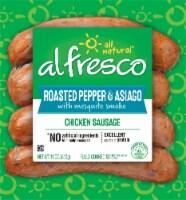 Al Fresco Roasted Pepper & Asiago Chicken Sausage