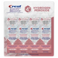 Crest 3D White Brilliance Teeth Whitening Toothpaste, 3 Ounce (Pack of 4) - 1 unit