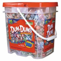 Spangler SPA75 Dum-Dum-Pops Candy - 1000 Bucket per Case - 1