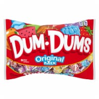 Dum Dums Original Assorted Flavor Lollipops