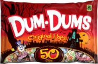 Dum Dums Halloween Original Flavor Lollipops Bag