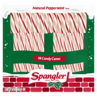 Spangler Peppermint Candy Canes 18 Count