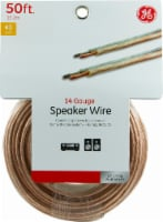 GE 14-Gauge Copper Speaker Wire