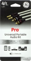 GE Pro Universal Portable Audio Kit - Clear