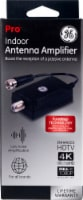 GE Pro Indoor Antenna Amplifier - Black