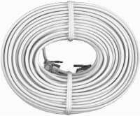GE Telephone Line Cord - White