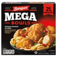 Banquet Mega Bowls Sesame Chicken Lo Mein Frozen Meal