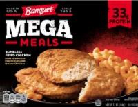 Banquet Mega Meals Boneless Fried Chicken Frozen Meal