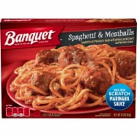 Banquet Spaghetti & Meatballs Frozen Meal