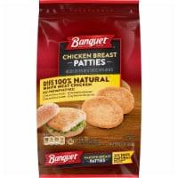 Banquet Natural Breaded Chicken Breast Patties