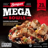 Banquet Mega Bowls Chicken Fajita Bowl Dinner
