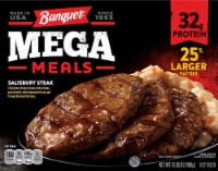 Banquet Mega Meals Salisbury Steak Frozen Meal