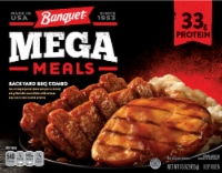 Banquet Mega Meals Backyard BBQ Combo Frozen Meal