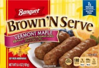 Banquet Brown'N Serve Vermont Maple Sausage Links