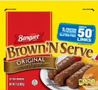 Banquet Brown'N Serve Original Fully Cooked Sausage Links