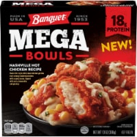 Banquet Mega Bowls Nashville Hot Chicken Recipe Frozen Meal