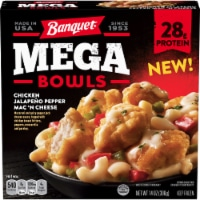 Banquet Mega Bowls Chicken Jalapeno Pepper Mac 'N Cheese Frozen Meal