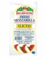 BelGioioso Sliced Fresh Mozzarella Cheese