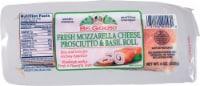 BelGioioso Fresh Mozzarella Cheese Prosciutto & Basil Roll