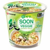 Nongshim Soon Veggie Noodle Soup Cup