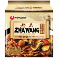 Nongshim Zha Wang Chajang Noodle Dish - 4 ct / 4.72 oz