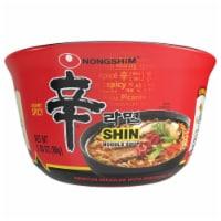 Nongshim Gourmet Spicy Shin Bowl Noodle Soup