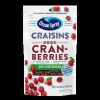 Ocean Spray Reduced Sugar Craisins - 5 oz