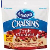 Ocean Spray Craisins Cranberry Almond Fruit Cluster, 2 Ounce -- 40 per case. - 4-10-2 OUNCE