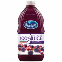 Ocean Spray No Sugar Added 100% Cranberry Concord Grape Juice