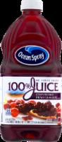 Ocean Spray 100% Cranberry Pomegranate Juice