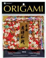 Yasutomo Fold Ems Yuzen Washi Origami Paper  5 x 5 Inch  12 Sheets