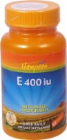 Thompson  Vitamin E with Mixed Tocopherols Softgels - 60 ct