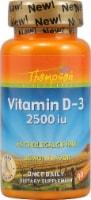 Thompson  Vitamin D-3   Lemon Chewable Tablets