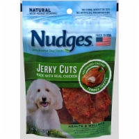 Nudges Real Chicken Jerky Cuts Dog Treats