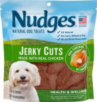 Nudges Natural Jerky Cuts with Real Chicken Adult Dog Treats