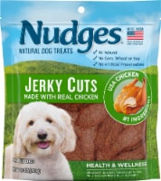 Nudges Natural Jerky Cuts Chicken Dog Treats