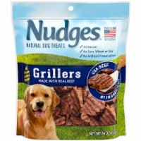 Nudges Grillers Real Beef Natural Dog Treats