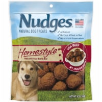 Nudges® Homestyle Beef & Rice Natural Dog Treats - 16 oz