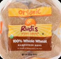 Rudi's Organic Bakery® Organic 100% Whole Wheat Buns