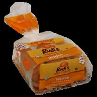 Rudi's Organic White Hot Dog Rolls 6 Count