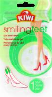 Kiwi Smiling Feet Gel Heel Liners - 1 PAIR