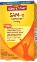 Nature Made SAM-e Complete Enteric Coated Dietary Supplement Tablets 200mg