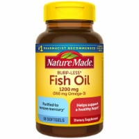 Nature Made Fish Oil 360 mg Omega-3 Dietary Supplement Softgels 1200mg